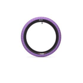 "Eclat Fireball BMX Tyre 20x2.40"" purple/black"